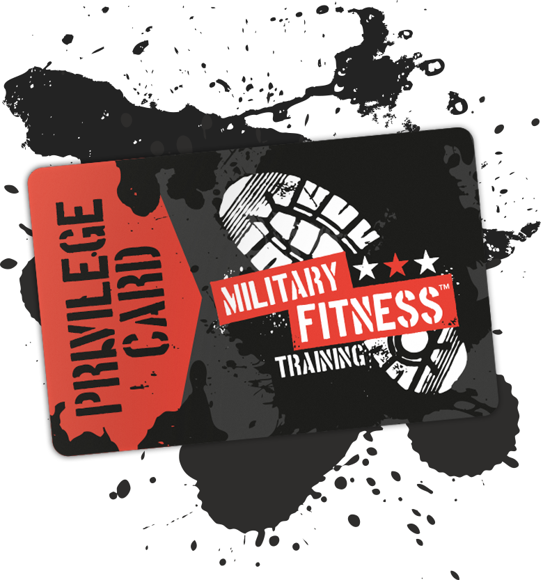 Military Fitness Aberdeen - Privilege Card