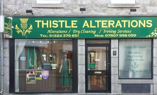 Thistle Alterations, 36 Chapel St