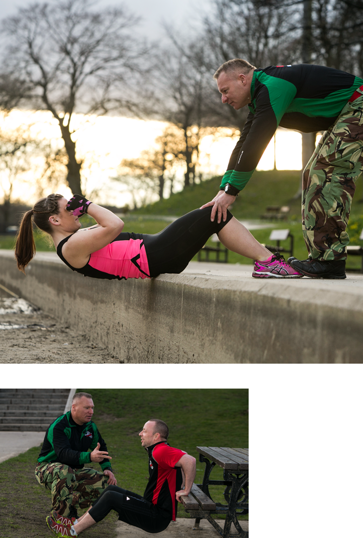 Personal Training Military Fitness