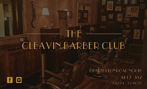 The Cleavin Barber Club, Cove, Aberdeen